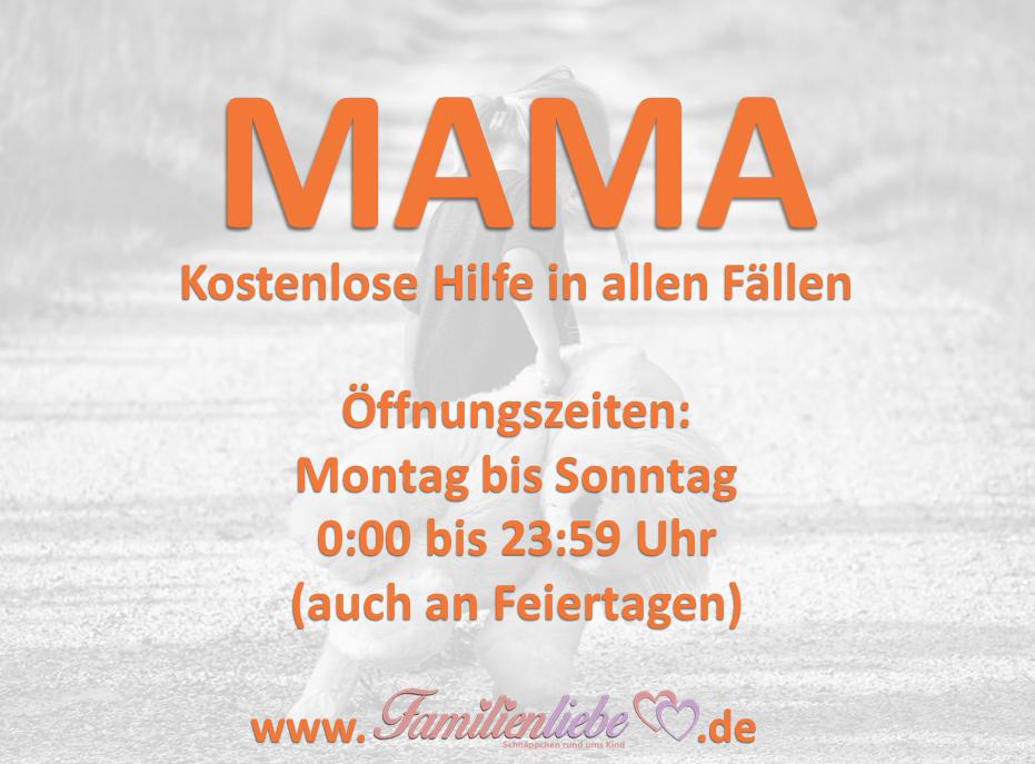 Familienliebespruch: MAMA